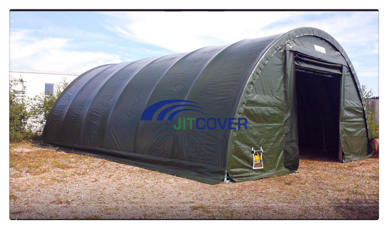 China Heavy Duty Stainless Steel Shelter 9m Span Portable Garage .