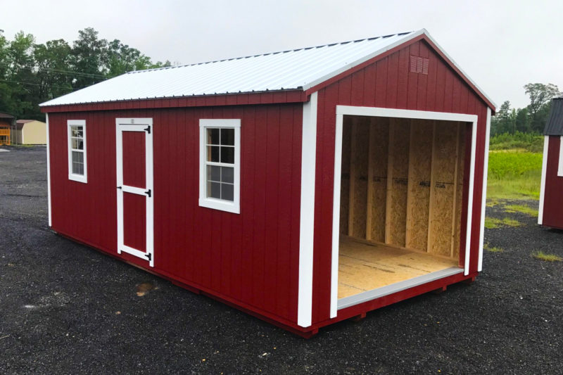 Portable Garages | Store ATVs, Mowers, & More | Fisher Bar