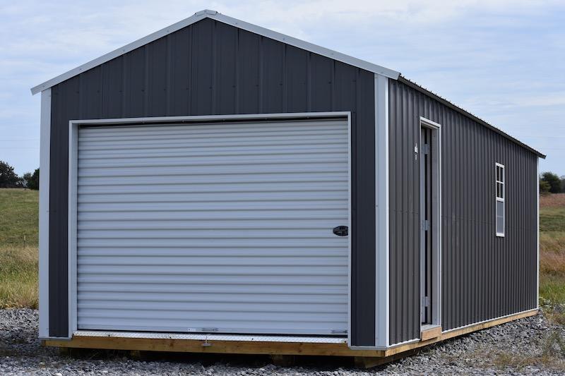 Z-Metal Portable Garage | Derksen Portable Buildin