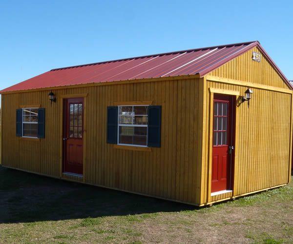 Derksen Portable Side Entry Utility / Storage Building. Visit www .