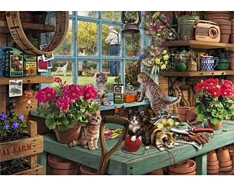 Grandpa's Potting Shed Animals & Nature Jigsaw Puzzl