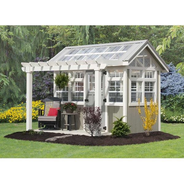 6' x 10' Potting Shed - Hartville Outdoor Produc