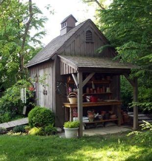 "10 ""Style Setting"" Garden Sheds | Wood shed, Shed, Garden sh"