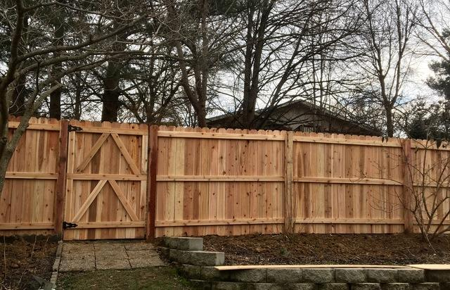 Fence & Deck Depot Photo Album - Wood Privacy Fence - Columbia .