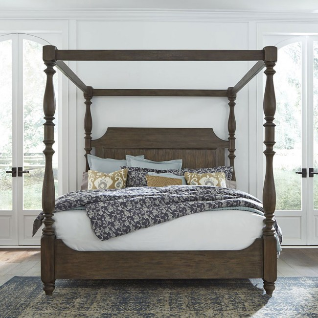Homestead Canopy Bed (Queen) - 1StopBedroom