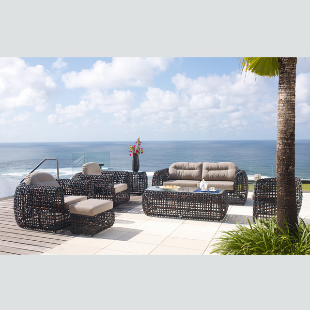 RT-12 outdoor patio rattan sofa garden furniture luxury wicker .