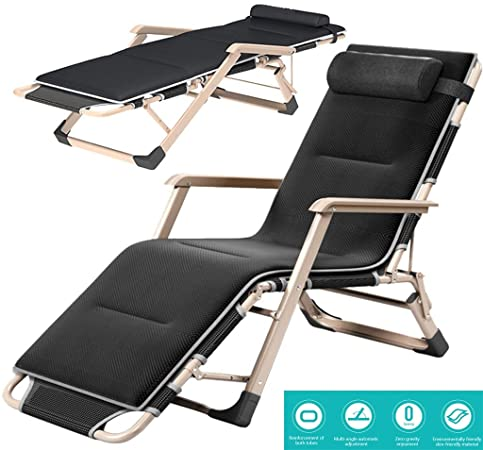 Amazon.com : Lounge Chairs/Reclining sunbed Folding sunbed Outdoor .