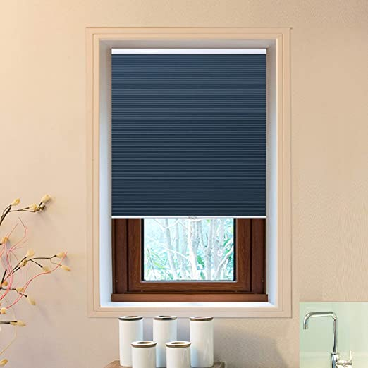 Amazon.com: Cellular Window Shades (Blackout) Cordless Room .