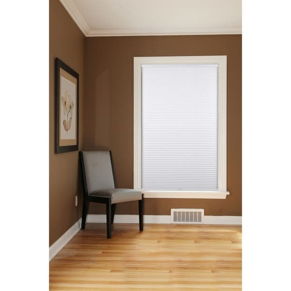 Shop Arlo Blinds White Room Darkening Cordless Cellular Shades .