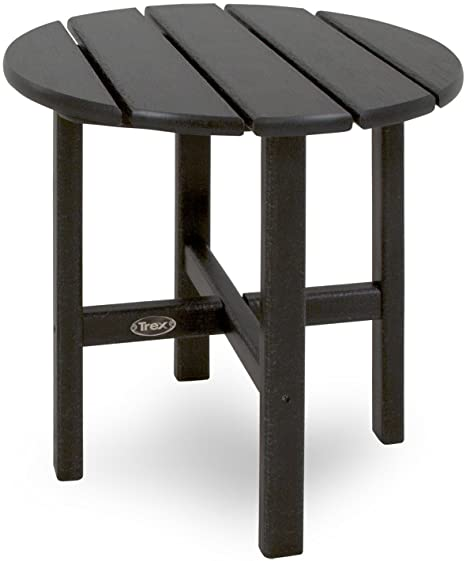 Amazon.com : Trex Outdoor Furniture Cape Cod Round 18-Inch Side .