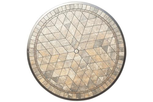 Backyard Creations® Murano Round Dining Patio Table Top Only (Base .