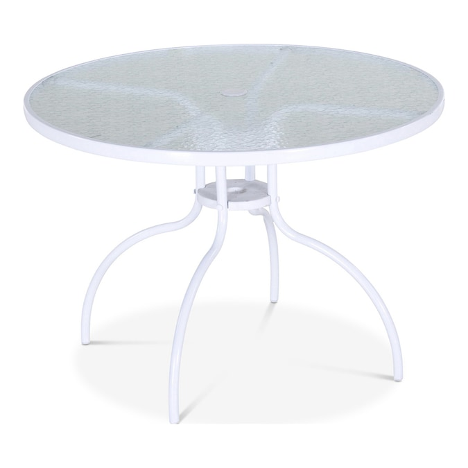 Garden Treasures Pagosa Springs Round Dining Table 40-in W x 40-in .