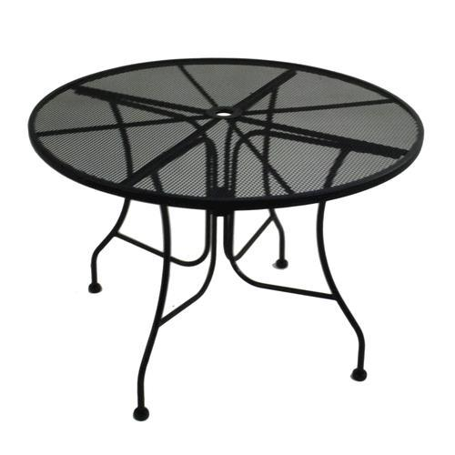 Backyard Creations® Wrought Iron Round Dining Patio Table at Menards