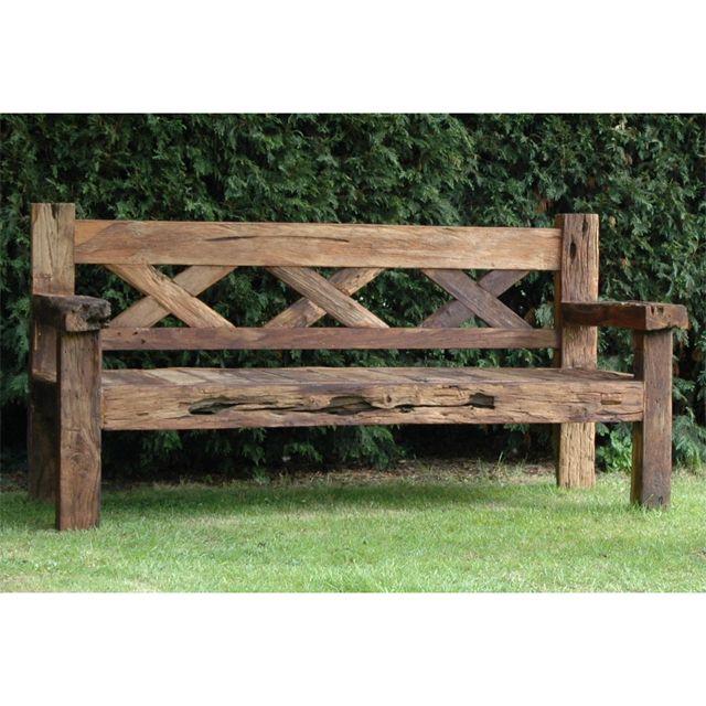 Bagoes Teak Furniture | Rustic outdoor benches, Wood bench outdoor .