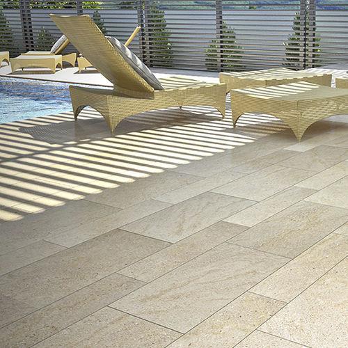 Sandstone paving slab - CARAMIEL - GRUPO SAN MARINO - anti-slip .