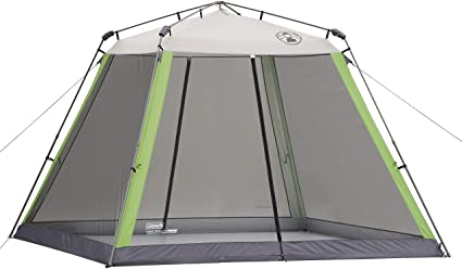 Amazon.com : Coleman Screened Canopy Tent | 15 x 13 Screened Sun .