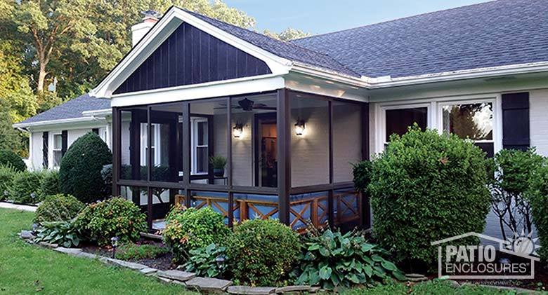 How to Convert a Deck to a Screened Porch -