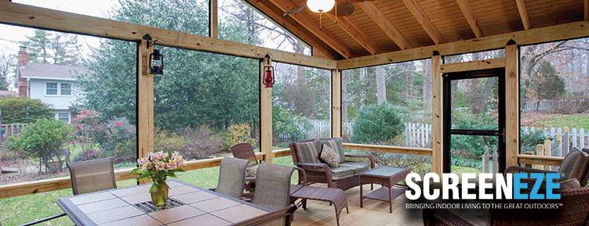 Benefits of a Screened In Deck Area on Your Home - McCray Bl