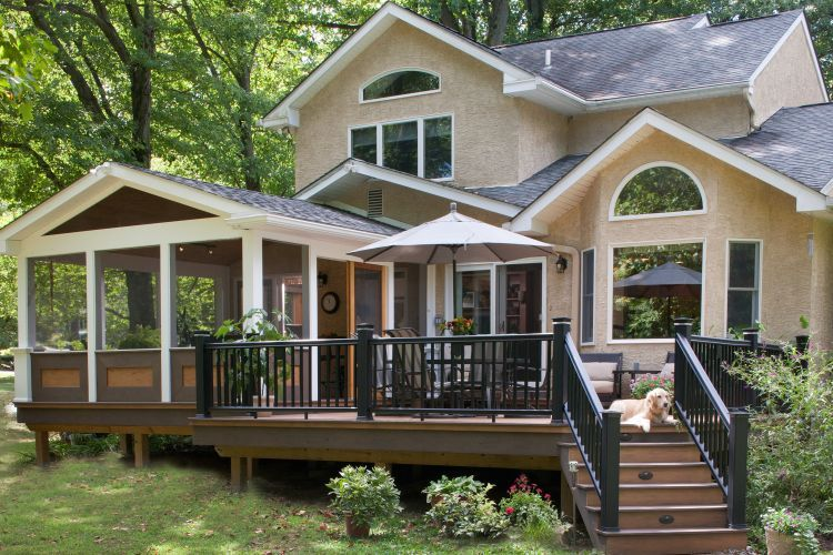 Photo Galleries | Porch design, Screened porch designs, Decks and .