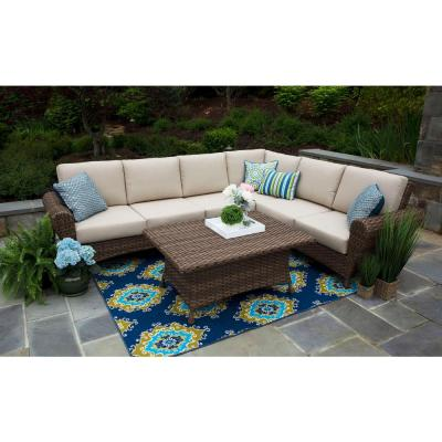 Canopy - Outdoor Sectionals - Outdoor Lounge Furniture - The Home .