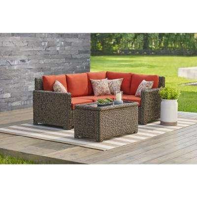Metal - Bronze - Outdoor Sectionals - Outdoor Lounge Furniture .