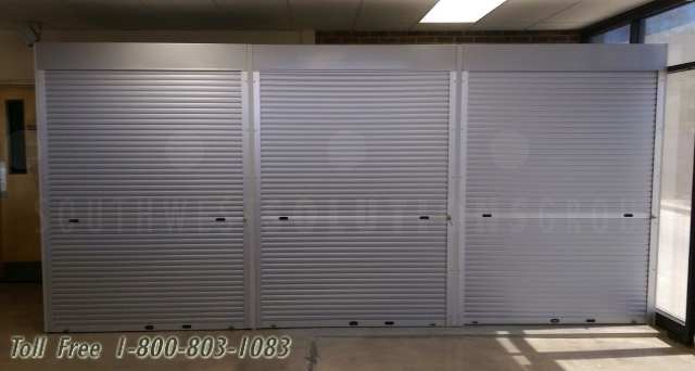 High Impact Security Shutters Heavy Duty Tough Roll-Up Doors Break .