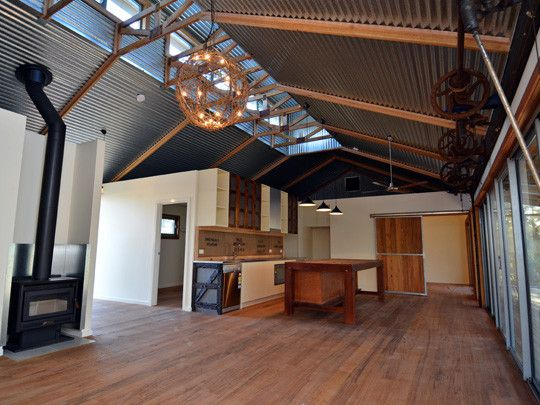 Shearing Shed House | Winning Homes … | Shed homes, Living in a .
