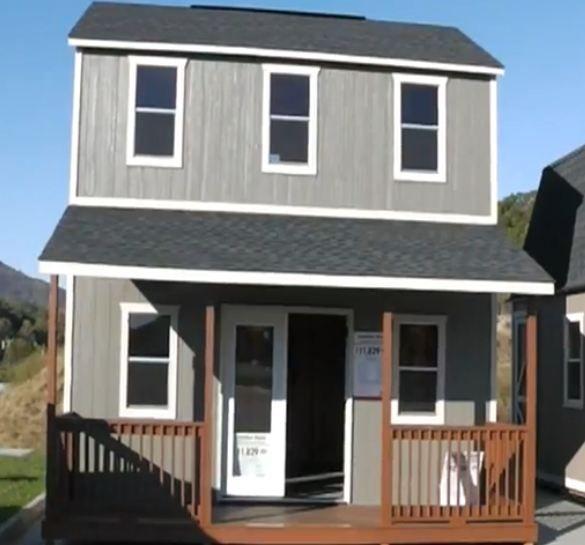 16 x 20 Plan #1 | Shed to tiny house, Shed homes, Small hou