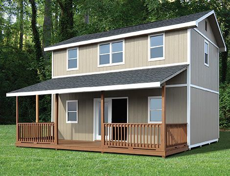 New Day | Classic Manor | Shed to tiny house, Home depot tiny .