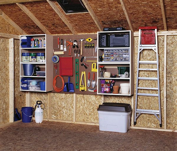 Common Shed Storage & Organization Mistakes to Avoid | Storage .