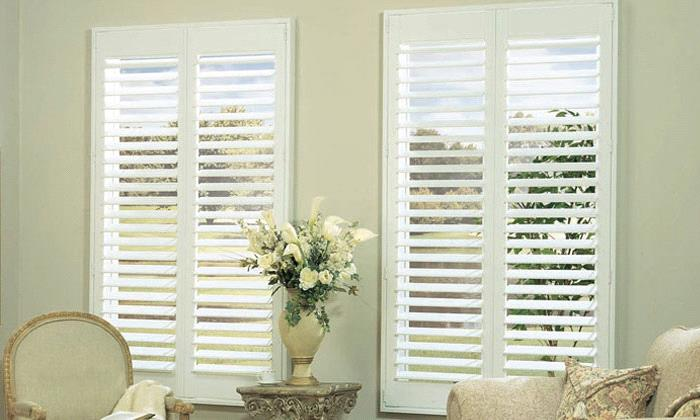 Steve's Exclusive Collection - Faux Wood Shutters - Grand View .