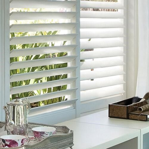 Track Faux Wood Shutters | Blinds.c