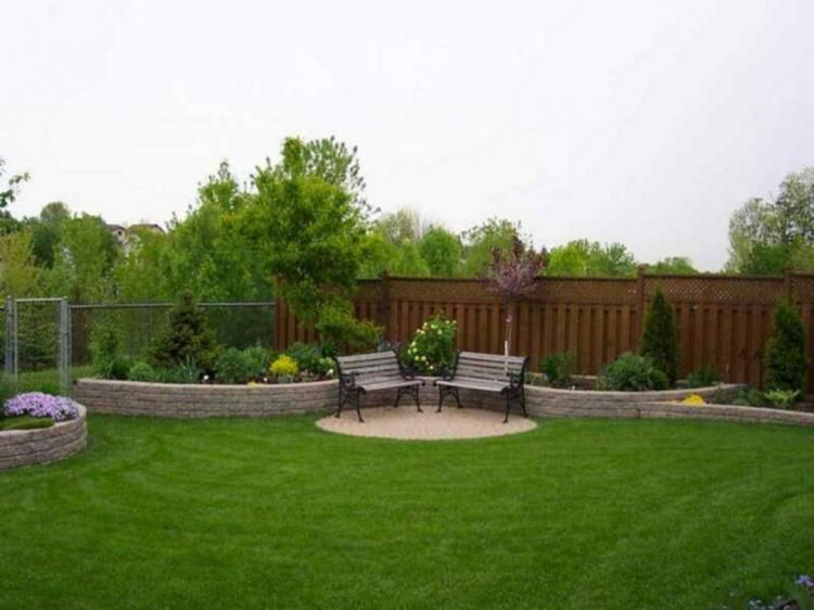 25+ Beautiful Simple Backyard Ideas On Your Budget | Large .