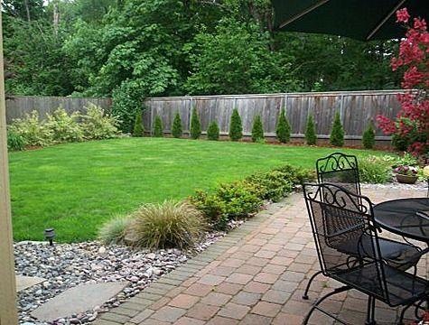 landscaping ideas backyard | Simple Backyard Garden Ideas .