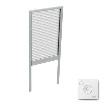 VELUX Manual Light Filtering White Skylight Blinds for FS C06 .