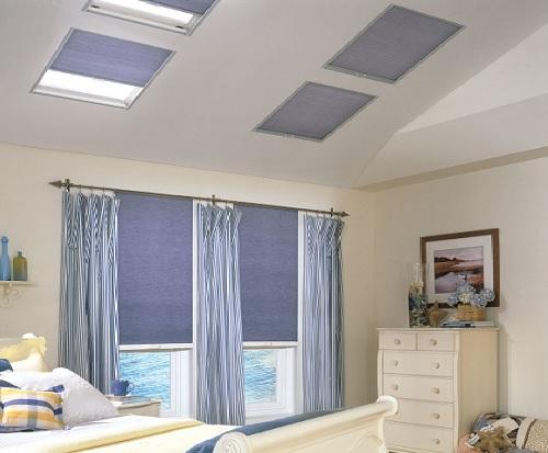 Cellular & Honeycomb Skylight Shades - EcoSmart Shad