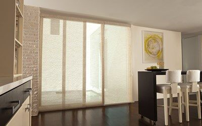 Levolor Fabric Sliding Panels | Blinds | AmericanBlinds.c