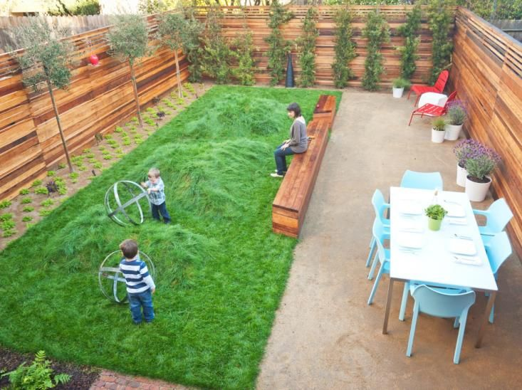 To Lawn or Not to Lawn? With Kids, That is the Question .