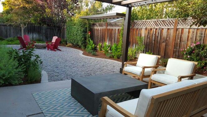 Grassless backyard | Low maintenance backyard, Backyard design .