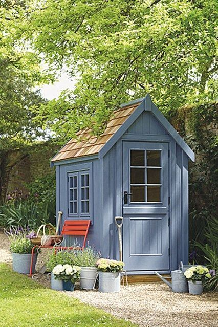 Small Wooden Shed from Posh Sheds. Garden Shed Ideas and .