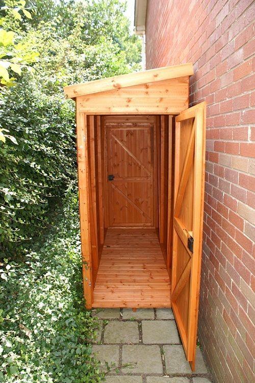 A Small Wooden Cabinet for Garden Essentials #shedideas   Diy .