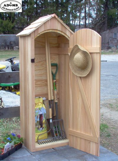 Small Garden Sheds | small cedar garden shed much better for tools .