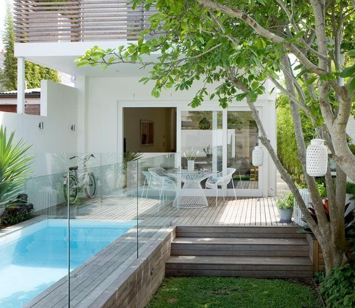 These Small Backyard Pools Show How to Make a Splash in the .