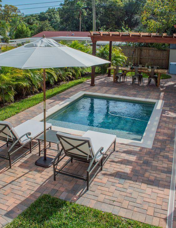 sekaspools.com in 2020 | Small backyard design, Small pool design .