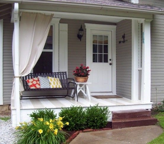 30 Cool Small Front Porch Design Ideas - DigsDigs | Small front .