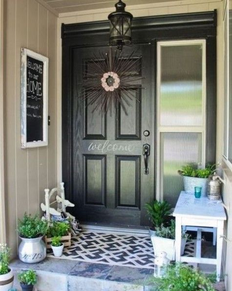 24 Cute Small Porch Decor Ideas To Try | Front porch decorating .