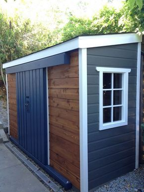 15 Creative DIY Small Storage Shed Projects for your Garden | Skur .
