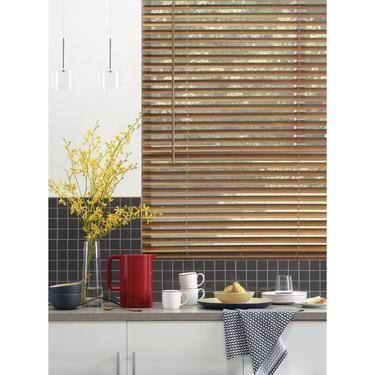 Windowshade 45 mm Timber Venetian Blind Cedar | Spotlight .