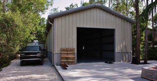 Metal Garages | Metal Garage kits | Residential | Commerci