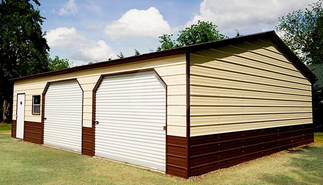 28x36 Side Entry Steel Garage | 28x36 Side Entry Garage Pric